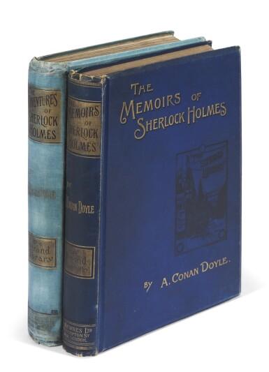 DOYLE, Sir A.C. | The Adventures of Sherlock Holmes, 1892, with The Memoirs of Sherlock Holmes, 1894