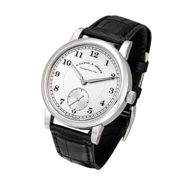 View 2. Thumbnail of Lot 2022. A. Lange & Söhne | 1815, Reference 233.025, A brand new limited edition platinum wristwatch, Circa 2009 | 朗格 | 1815 型號233.025 全新限量版鉑金腕錶,約2009年製.