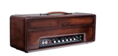 View 3. Thumbnail of Lot 9. Berluti | Amplifier, Guitar with Case and Boots (Ampli, Guitare avec Housse et Bottine) [5 Items / Articles].