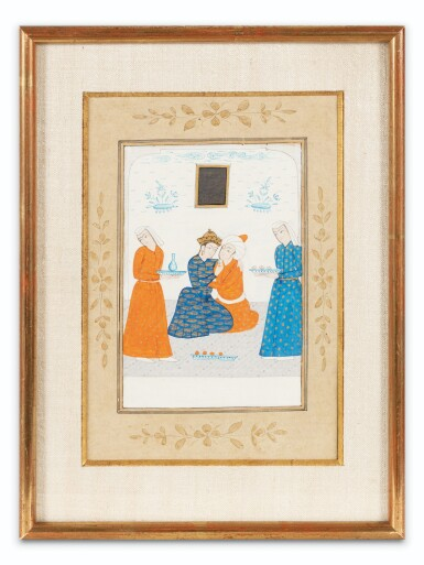 View 6. Thumbnail of Lot 67. INDIA AND CENTRAL ASIA, 17TH-19TH CENTURIES | THREE MINIATURES.
