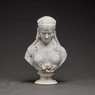 View 1. Thumbnail of Lot 121. GALLERIA LAPINI | BUST OF THE SHULAMITE.