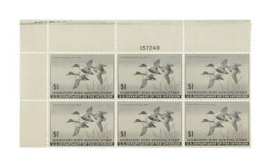 Hunting Permits 1945 $1.00 Black (RW12)