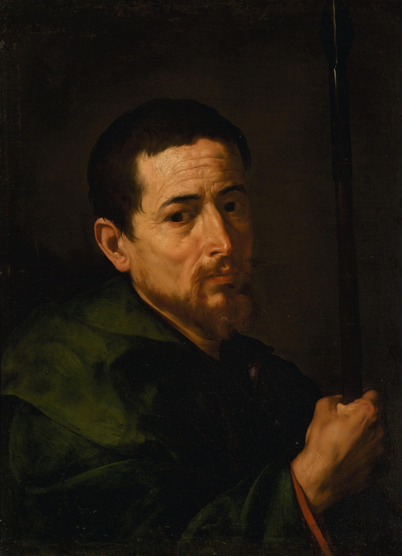 JUSEPE DE RIBERA, CALLED LO SPAGNOLETTO | Saint Judas Thaddeus | 胡塞佩・德・里貝拉 - 或稱洛・斯帕尼奧萊托 | 《聖猶達》