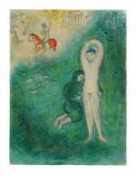 MARC CHAGALL | DAPHNIS AND GNATHON (M. 343; SEE C. BKS. 46)