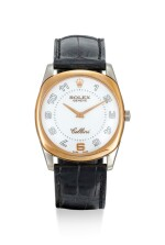 ROLEX | CELLINI, REFERENCE 4233, A TWO COLOUR GOLD WRISTWATCH WITH UNUSUAL DIAL, CIRCA 1999