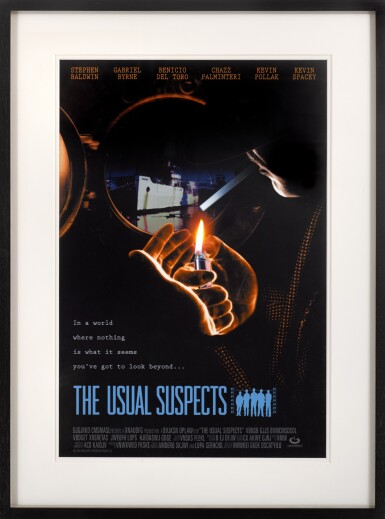 THE USUAL SUSPECTS (1995) POSTER, US