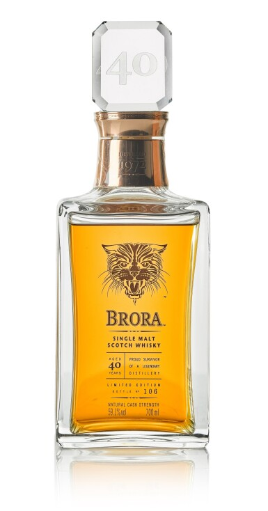 Brora Limited Edition 40 Year Old 59.1 abv 1972