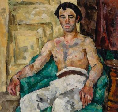 PETR PETROVICH KONCHALOVSKY   PORTRAIT OF THE ARTIST LEVON BUNATIAN