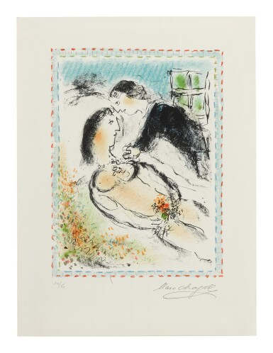 MARC CHAGALL | REST (M. 1037)