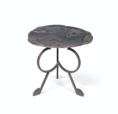 View 1. Thumbnail of Lot 21. Foxy side table, 2016.
