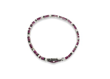 Ruby and diamond bracelet, Michele della Valle
