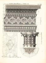 Architecture | Langley, Halfpenny, and Lightoler | 3 works bound in one volume, 1747-1762