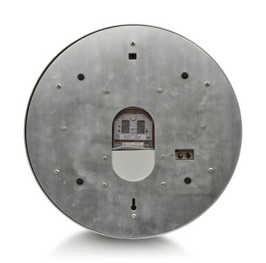 View 3. Thumbnail of Lot 199. INDUCTA MANUFACTURE FOR ROLEX | A METALWORK WALL CLOCK, CIRCA 2010.