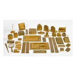 "TIFFANY STUDIOS | THIRTY-EIGHT PIECE ""BOOKMARK"" DESK SET"