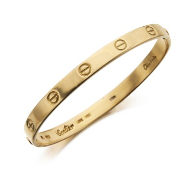 ALDO CIPULLO FOR CARTIER | GOLD 'LOVE' BANGLE-BRACELET