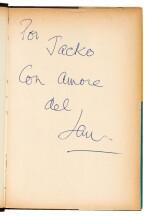 FLEMING | Vivi e Lascia Morire, 1956, first Italian edition, presentation copy