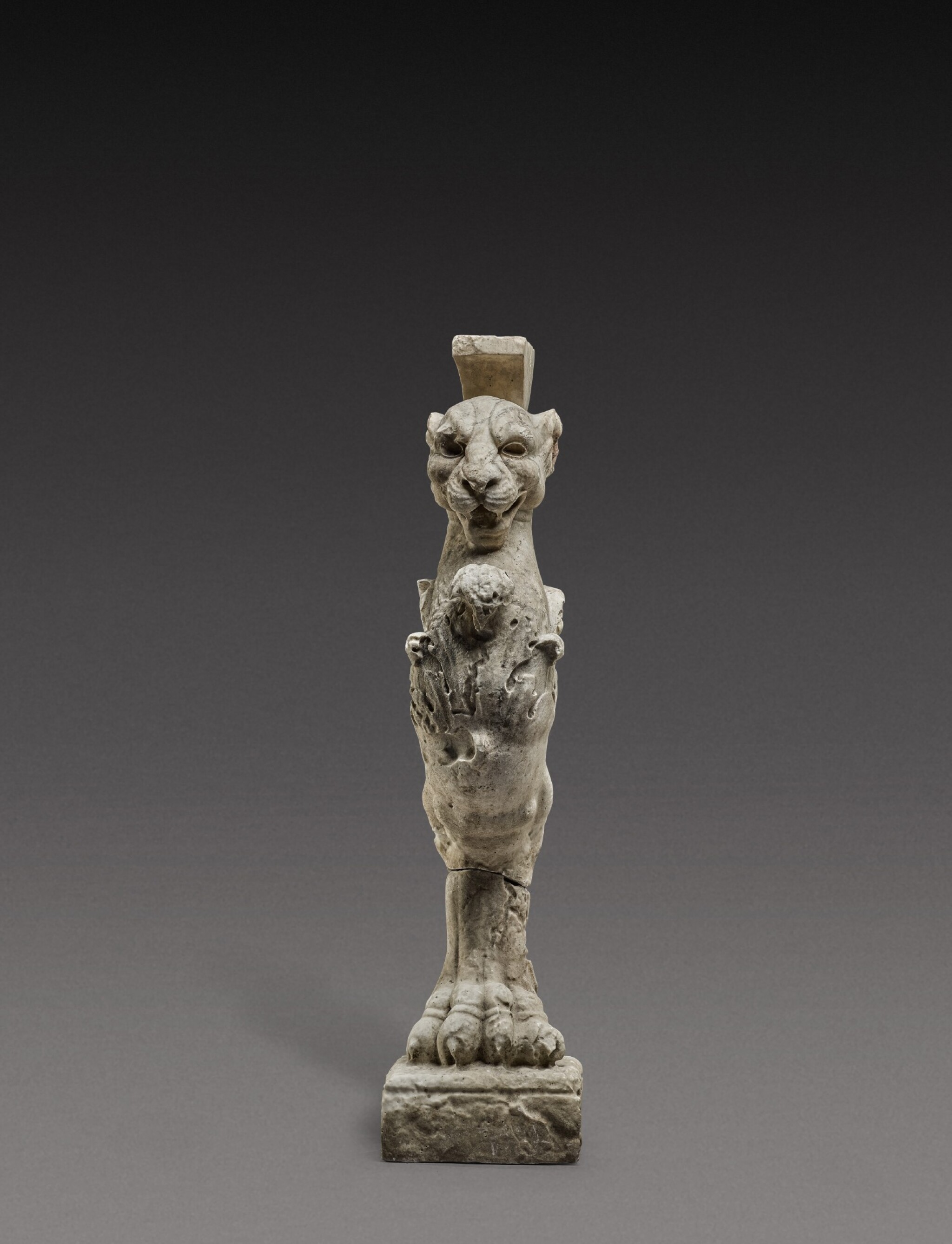 View 1 of Lot 140. Italian, 19th century, After the Antique   Table Leg in the form of a Lion.