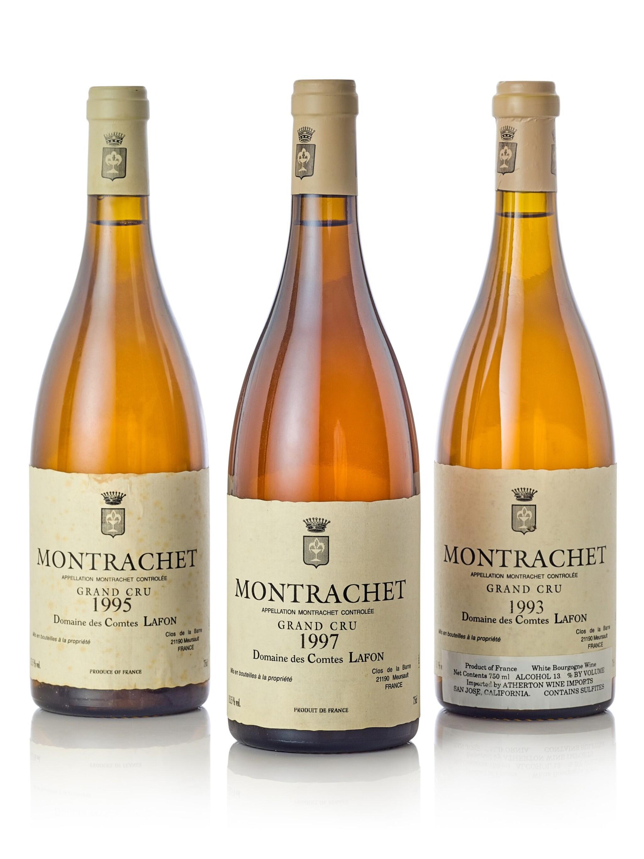Montrachet 1997 Domaine des Comtes Lafon (1 BT)