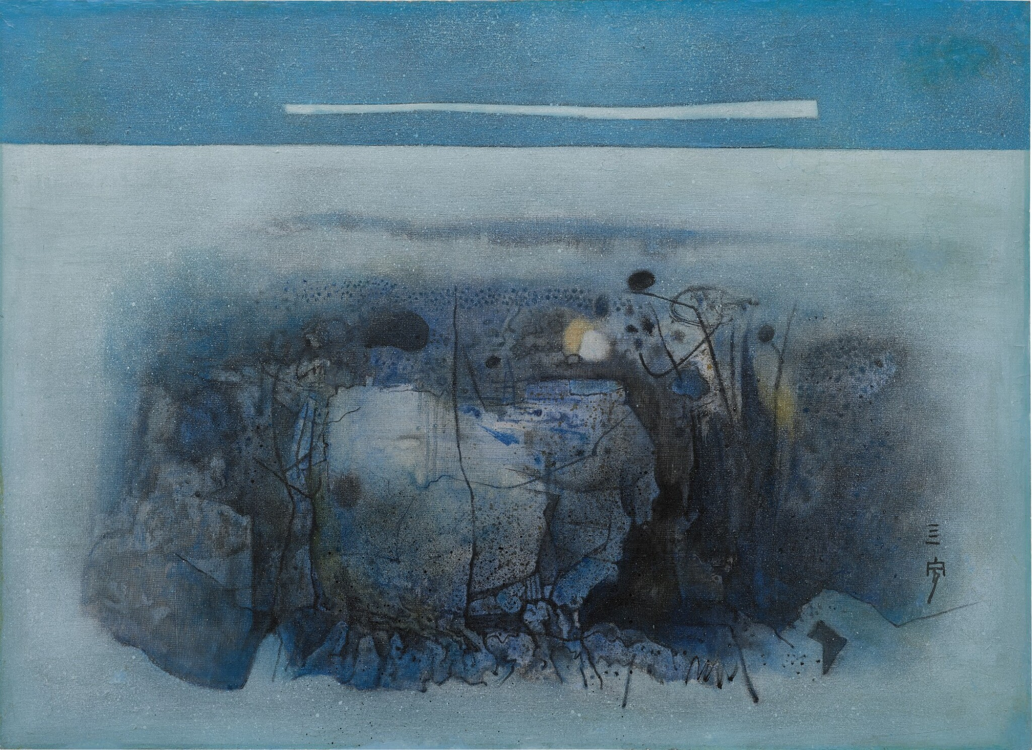 View full screen - View 1 of Lot 279. CHEONG SOO PIENG 鍾泗濱  | ABSTRACT LANDSCAPE 抽象風景.