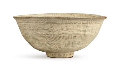 View 2. Thumbnail of Lot 1071.  A PUNCHONG WARE BOWL, KOREA, JOSEON DYNASTY, 15TH / 16TH CENTURY.