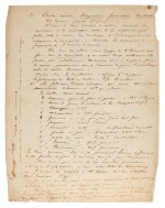 A. Nobel. Collection of autograph letters, drawings and documents about his dynamite factory in Italy, 1872-1873