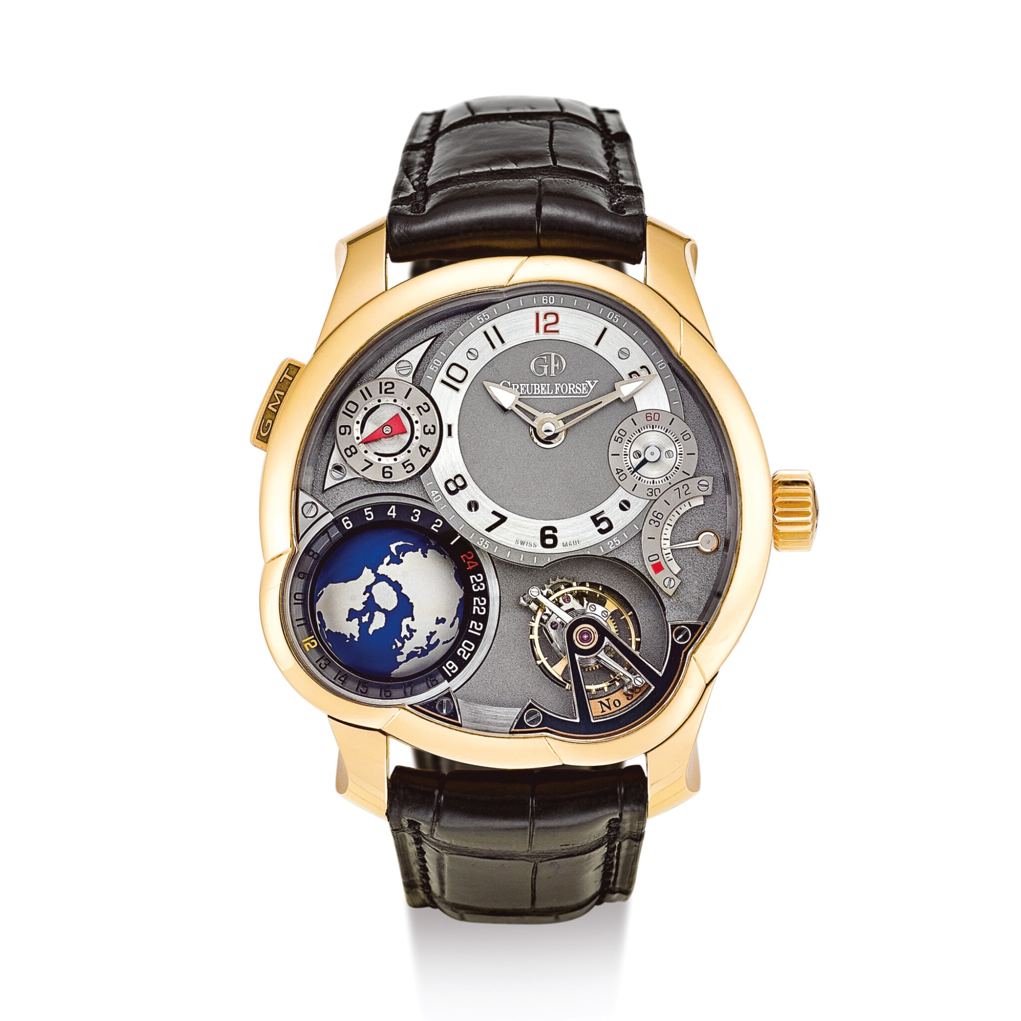 """View 1 of Lot 2292. GREUBEL FORSEY 