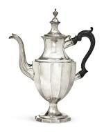 An American Silver Coffee Pot, Joseph Richardson Jr., Philadelphia, circa 1800