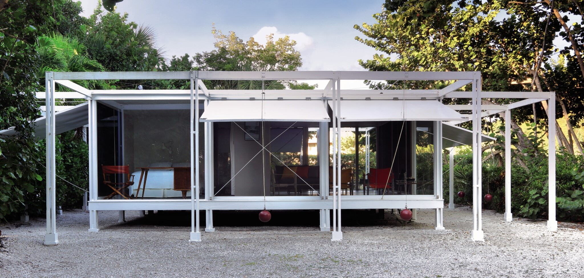 View full screen - View 1 of Lot 343. PAUL RUDOLPH | THE WALKER GUEST HOUSE.