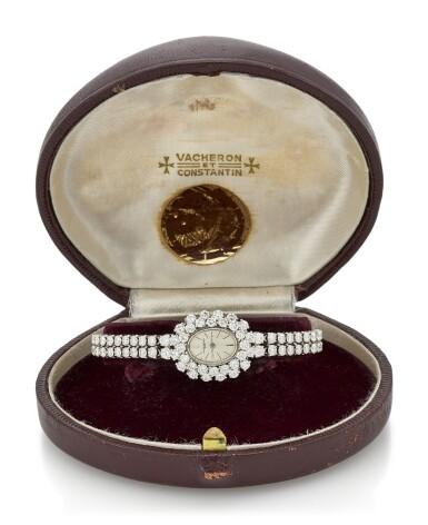 LADY'S DIAMOND WRISTWATCH (OROLOGIO DA POLSO IN DIAMANTI) , VACHERON CONSTANTIN