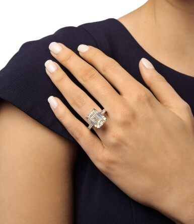 View 2. Thumbnail of Lot 382. DIAMOND RING.