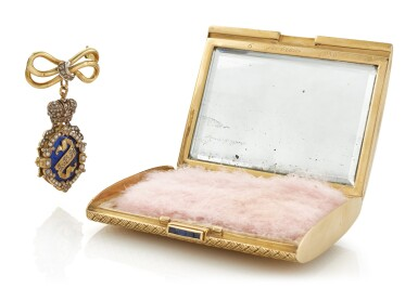 POWDER BOX AND BROOCH (PORTACIPRIA E SPILLA)