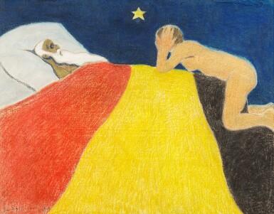 View 1. Thumbnail of Lot 21. La mort du roi Léopold II.