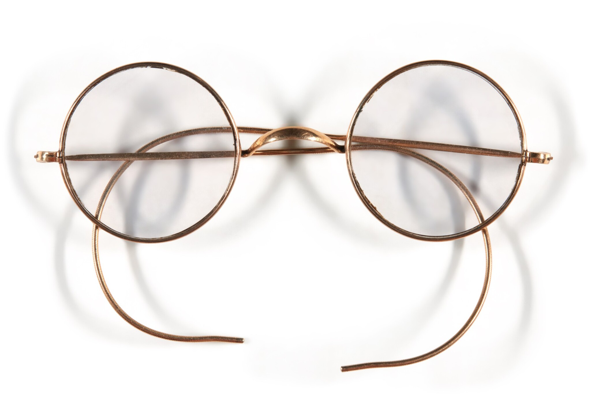 View full screen - View 1 of Lot 38. JOHN LENNON | Pair of round Windsor spectacles.