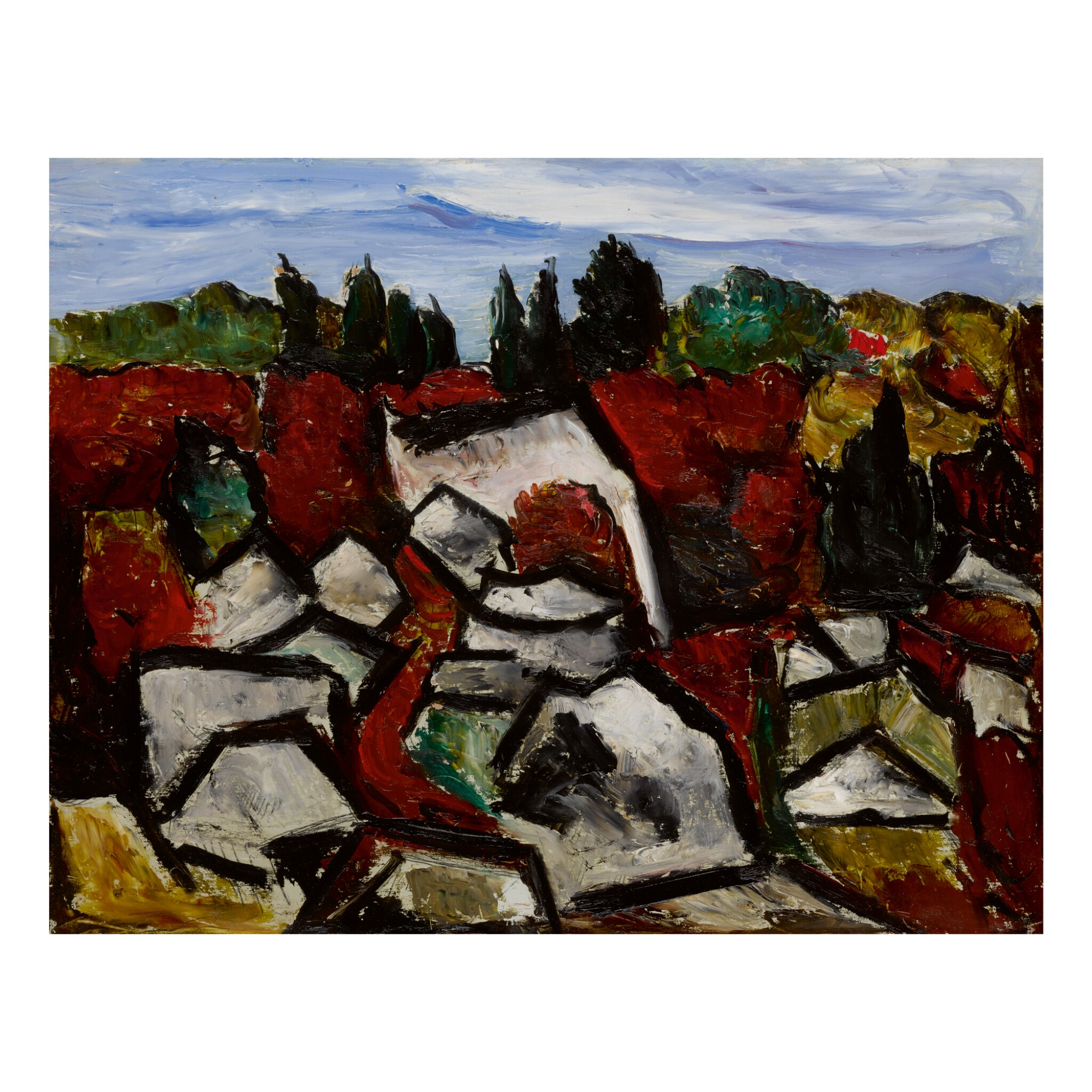 View full screen - View 1 of Lot 27. MARSDEN HARTLEY | DOGTOWN.
