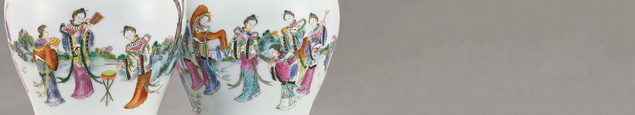 A Selection of Qing Imperial Porcelain 錦簇滿庭:清代御瓷選粹