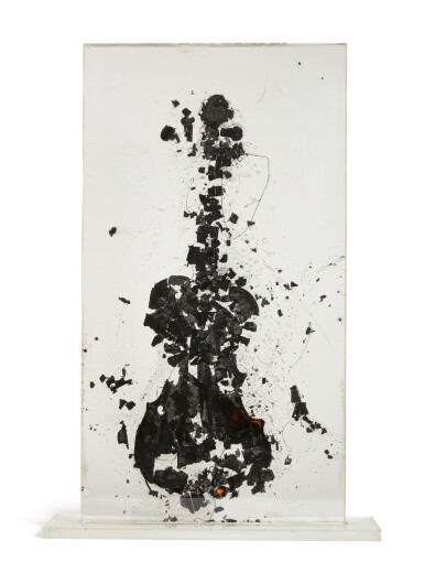 View 2. Thumbnail of Lot 180. Tortured Violin.