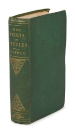 "Darwin, Charles | First edition of Darwin's On the Origin of Species, ""the most important single work in science."""