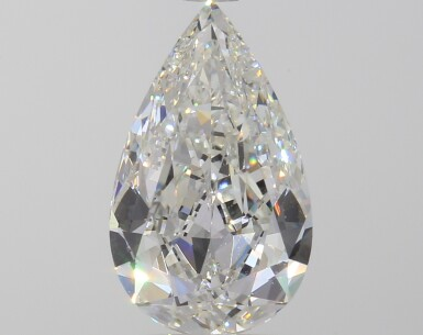 A 2.01 Carat Pear-Shaped Diamond, J Color, VVS1 Clarity
