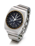 OMEGA | SPEEDMASTER 125, REFERENCE ST 378.0801, A STAINLESS STEEL CHRONOGRAPH WRISTWATCH WITH DATE, 24 HOURS INDICATION AND BRACELET, CIRCA 1973