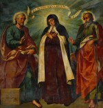 BALTASAR DE ECHAVE IBÍA | SAINT THERESA OF AVILA BETWEEN SAINTS PETER AND PAUL