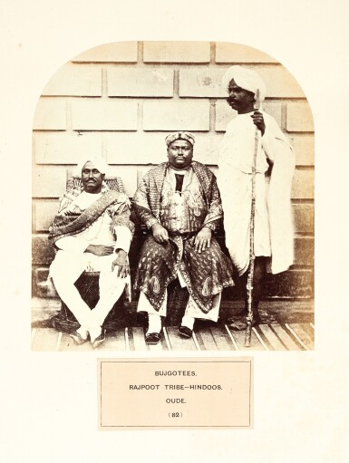 View 1. Thumbnail of Lot 307. Watson and Kaye | The People of India, 1868-1875.
