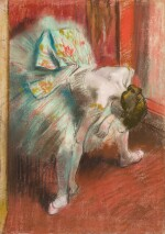 Danseuse au tutu vert