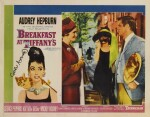 Breakfast at Tiffany's (1961) lobby card, US, signed by screenwriter George Axelrod