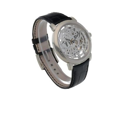 View 3. Thumbnail of Lot 540. Midnight, Ref. 450-MAS42W White gold skeletonized wristwatch Circa 2015   海瑞溫斯頓 450-MAS42W型號「Midnight」白金鏤空腕錶,年份約2015.