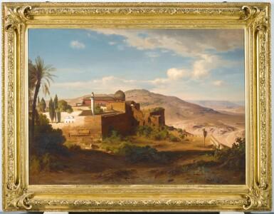 View 2. Thumbnail of Lot 6. AUGUST LÖFFLER | The Al-Aqsa Mosque, Jerusalem .