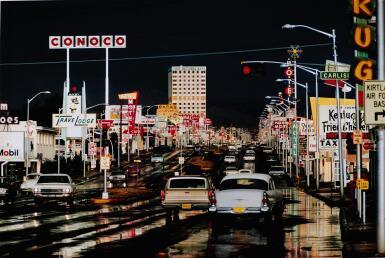 ERNST HAAS | 'ROUTE 66', ALBUQUERQUE, NEW MEXICO, 1969