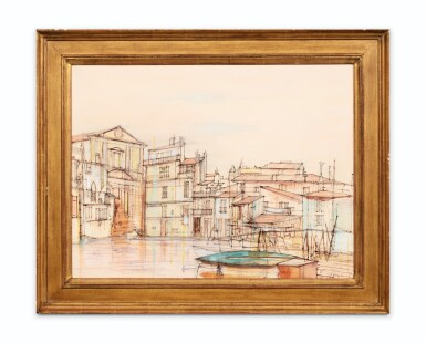 View 2. Thumbnail of Lot 60. JEAN CARZOU | LA VENISE PROVENÇALE      .