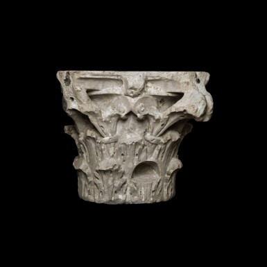 View 2. Thumbnail of Lot 82. A Roman Marble Composite Capital, 2nd/3rd Century A.D..