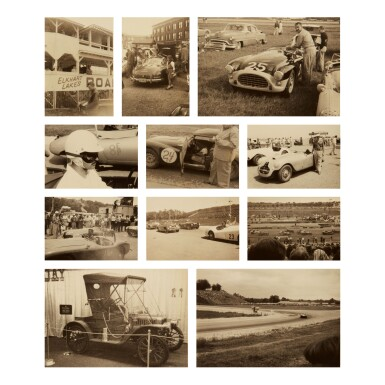 PHOTOGRAPHER UNKNOWN | SELECTED IMAGES OF CAR RACES AND VINTAGE CARS