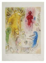 MARC CHAGALL | PAN'S BANQUET (M. 331; SEE C. BKS. 46)